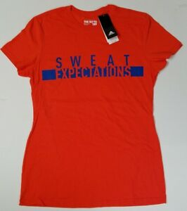 Adidas Women's Large The GO-TO Tee Energy s17