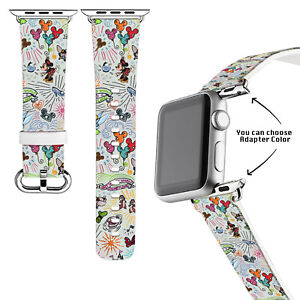 Dooney&Bourke Disney Sketch Apple Watch Band Series 3 4 5 6 SE 38/40/42/44mm 361