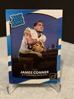 2017 Donruss Rated Rookie JAMES CONNER rookie Card Blue RC- Steelers