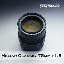 Voigtlander HELIAR classic 75mm F/1.8  for Leica M camera