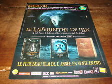 LE LABYRINTHE DE PAN - PUBLICITE EXCLUSIVITE !!!!!!!!!!