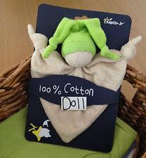 KEPTIN JR coton biologique jouet zmooz consolateur doudou poupée hochet-Lime 18....