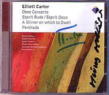 Heinz Holliger & Boulez firmato CARTER Oboe Concerto penthode Esprit rude CD
