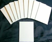 10 ACEO 2.5x3.5 inches Extra Fine Real Pro Artist Blank Canvas Panels Art Cards