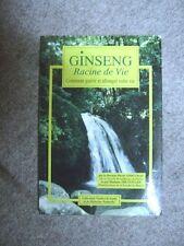 Livre Ginseng racine de vie comment guérir et allonger votre vie 64 pages /BB3