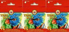 3x12 Koh-I-Noor HARDTMUTH Trio WAX AQUARELL 36 Wachs Pastell für Kinder & Profis