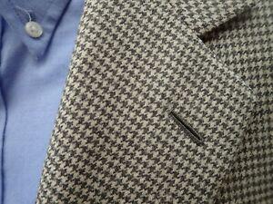 BRIONI Escorial Wool Houndstooth Sport Coat 48R