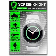 Screenknight Samsung Galaxy Gear S2 Protector De Pantalla Invisible Militar Escudo