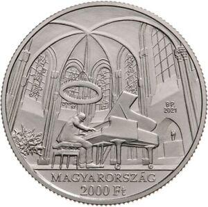 Hungary 2000 forint 2021 Cziffra György Pianist Piano BU