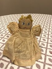Tiny Painted Face Cloth Baby Doll