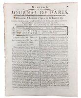 Saint Domingue 1792 Le Cap Esclave Port Margot Haïti Limbé Constitution Crestin