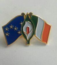 easter lily starry plough tricolour pin badge Irish Republican Celtic Ireland