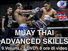 Corso Di Muay Thai  Advanced 3DVD (9 Volumi) Oltre 8 ore di  Course Novità 2017