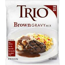 Trio Gravy Mix, Brown Gravy, Holiday Roasts, Dehydrated, Just Add Water, 13.37