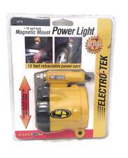 10 W Magnetic montaggio potenza della Luce Torcia Lavoro Casa Garage Auto super luminosi