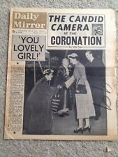 Daily Mirror Newspaper 4th June 1953