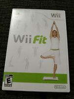 Wii Fit (Nintendo Wii) - Complete w/ Manual