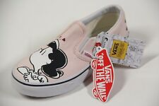 LEFT SHOE ONLY Vans Charlie Brown LUCY SNOOPY KISS Peanuts Youth Kids Pink RARE