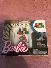 Barbie Super Mario Bros Fashion ~ Free Shipping!