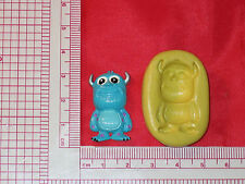 Baby Monsters Silicone Push Mold 183 For Craft Chocolate Candy Fondant Gumpaste