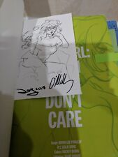 SIGNED STICKER w/ Snotgirl Volume 1 by Bryan Lee O'Malley (2017, Paperback)