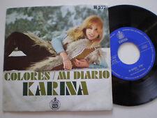 KARINA Colores SPAIN 45 1970