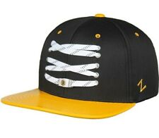 Boston Bruins NHL Retro Snapback Cap Black Yellow Hat Zephyr Lacer Collection