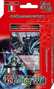 FORCE OF WILL Mazzo Introduttivo - MACHINA, il Signore delle Macchine (Fuoco)