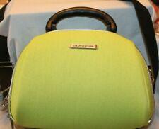 Luca Vergani Neon Green Cosmetic Travel Bag
