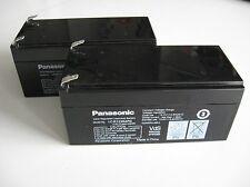 Blei Gel Akku 12V 3,4Ah ( 2 Stück ) Panasonic