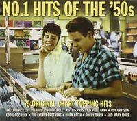 NO.1 HITS OF THE 50'S (Doris Day,  Elvis Presley, Buddy Holly uvm.) 3 CD NEW!