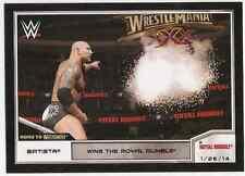 2014 Topps WWE Road to Wrestlemania #75 Batista