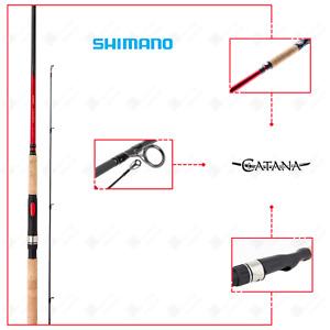 Canna da Pesca Spinning Shimano Catana DX Lago Mare Spigola Serra Barracuda
