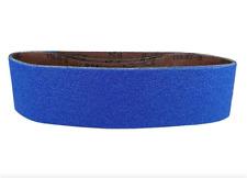 Powertec 4x36 inch 24 Grit Metal Grinding Zirconia Sanding Sander Belt 3 Pack