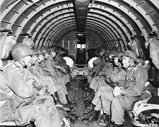 Paratroopers World War 2 WWII Europe 1944 D-Day Invasion 8 x 10 Photo #pt1