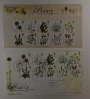 2009 ROYAL MAIL PRESENTATION FOLDER PLANTS UK SPECIES RECOVERY & 2 FDC LOT 389*