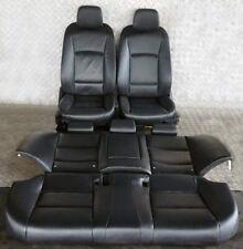 BMW 5 er F10 Schwarz Leder Sitze Innensitze OHNE Türverkleidung