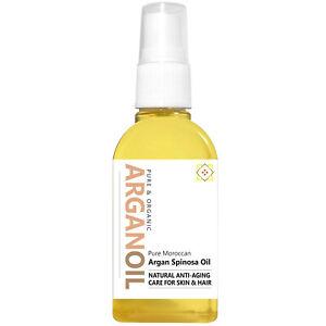 Argan Oil - Pure, Organic Moroccan Argan Oil - 65ml