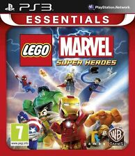 LEGO Marvel Super Heroes PS3 Game Brand New In Sealed
