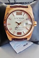 Orologio Locman Watch Made Italy Stealth 10mm Titanio Automatic 0205rravf5n0ps