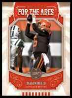 2019 PANINI LEGACY FOR THE AGES BAKER MAYFIELD CLEVELAND BROWNS #FTA-BM INSERT