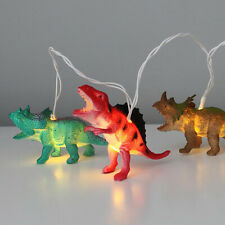 Dinosaur String Lights LED Battery Operated 10 Dinosaurs 1.7 Meters Long