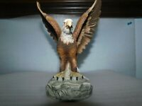 Porcelain Bald Eagle by Andrea by Sadek, Made in Japan