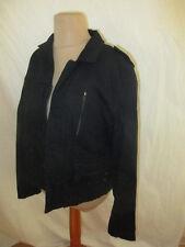 Veste Bel Air Noir Taille 38 à - 68%