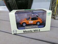 1/43 DIAPET ZOOM ZOOM MAZDA MX-5 DIECAST IN COPPER  12/5 Years DEALER BOX NEW!!