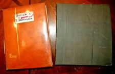 CatalinaStamps: Boliva & Dominican Republic in 2 Stockbooks, 1942 Stamps, D191
