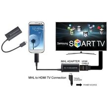 MHL Micro USB to HDMI HD TV Adapter Cable Samsung Galaxy S3  S4 S5  Note2 3