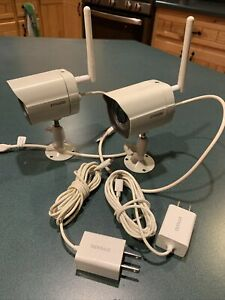 Zmodo 720p HD 2-Pack Wireless Security Camera System - White (ZM-W0003-2-N1)