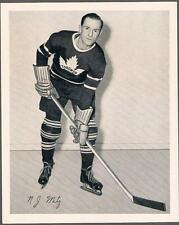 1945-54 Quaker Oats Photo Toronto Maple Leafs #37C Nick Metz/Home Still