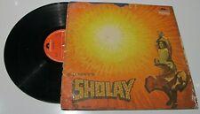 Dharmendra/ Amitabh R D Burman – Sholay 1975 Bollywood LP Vinyl Record